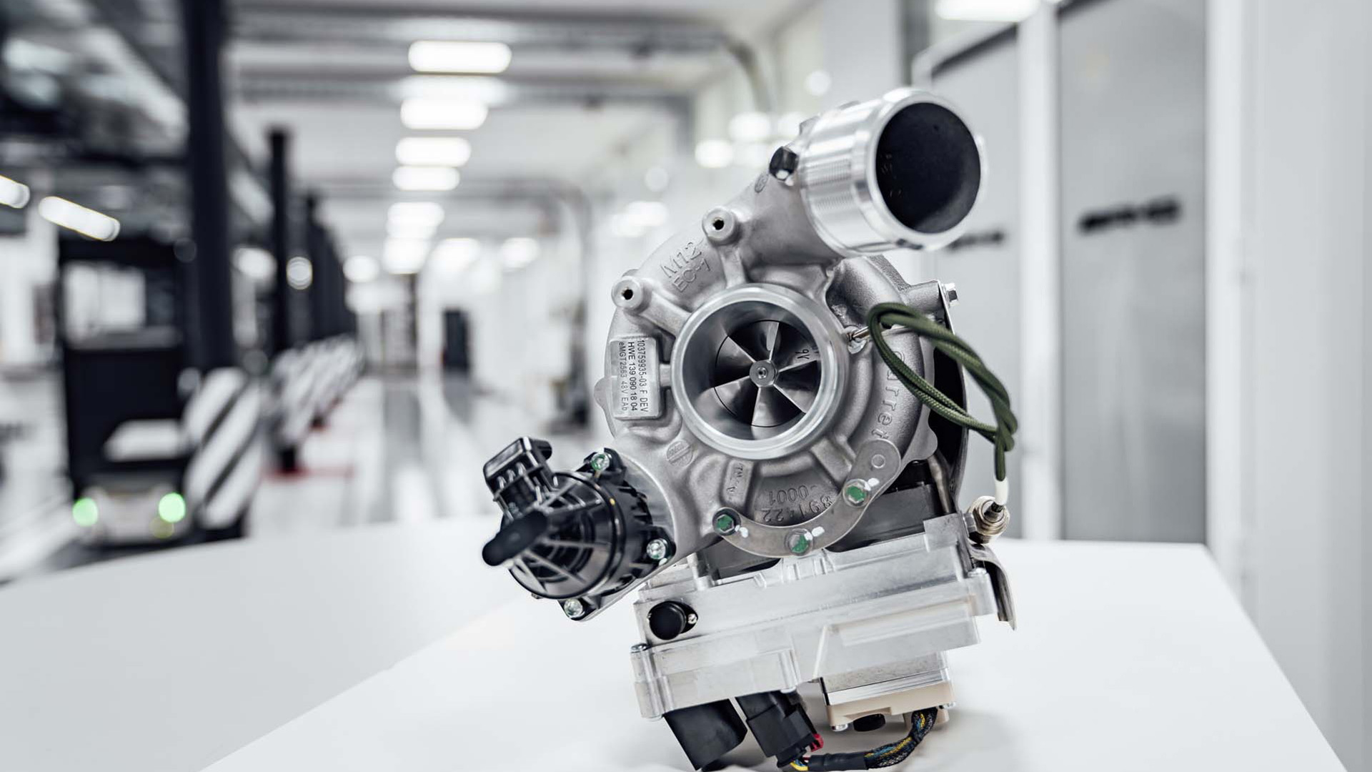 Garrett E-Turbo electrified turbocharger