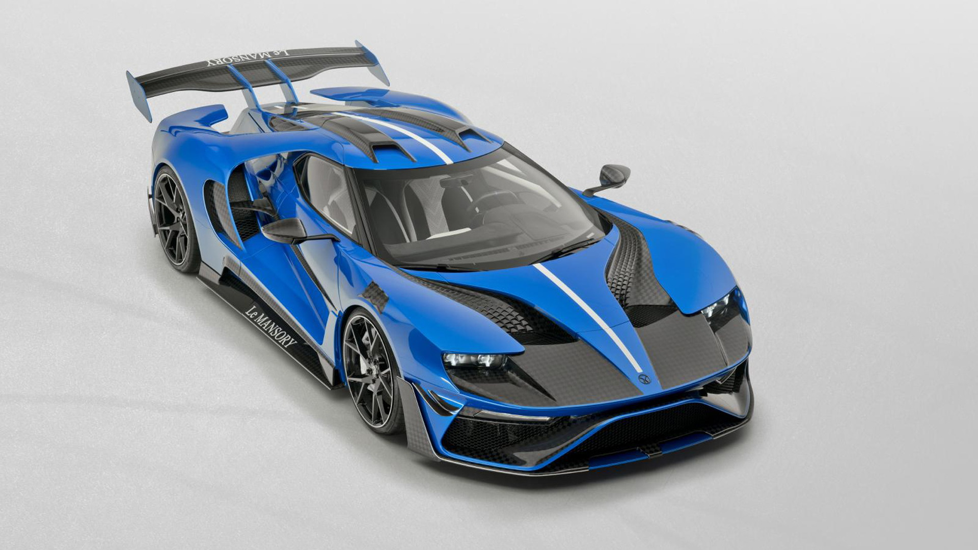 Mansory LeMansory based on the Ford GT