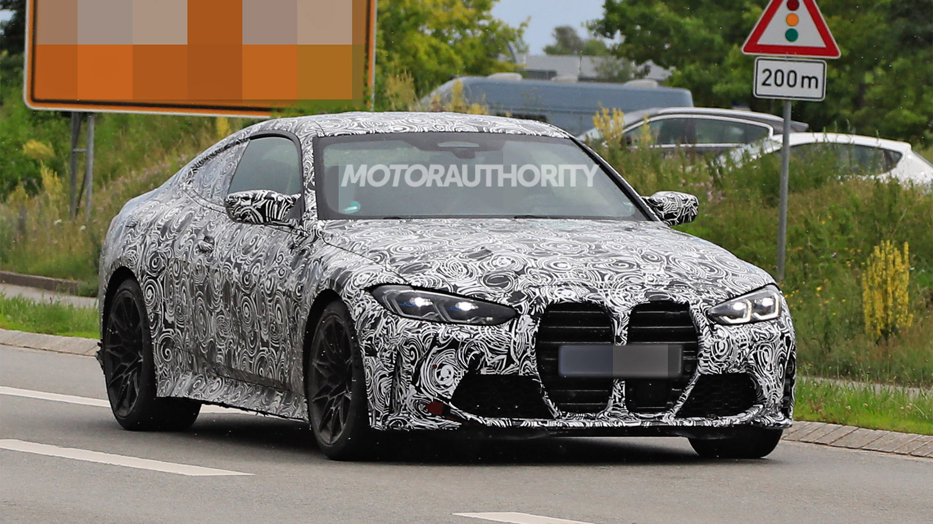 2021 BMW M4 spy shots - Photo credit: S. Baldauf/SB-Medien