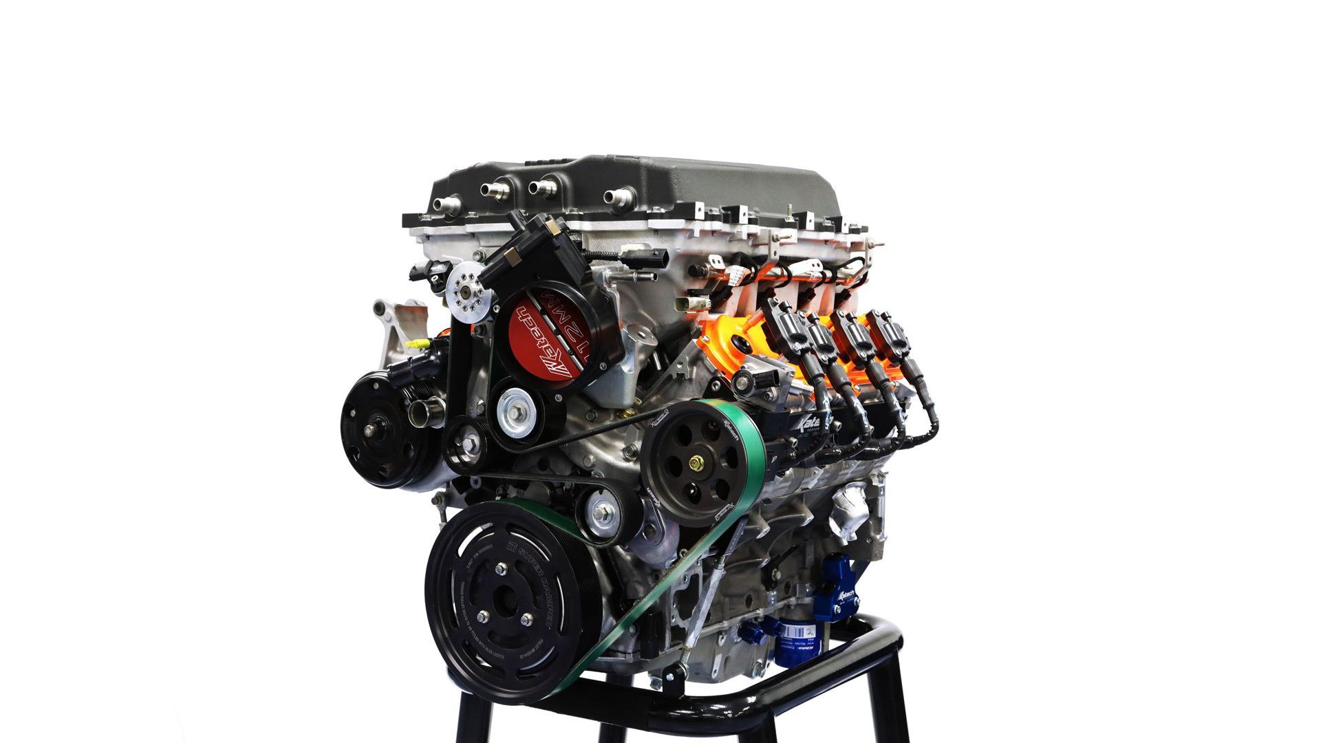 Katech Track Attack LT5 6.35-liter supercharged V-8 crate engine