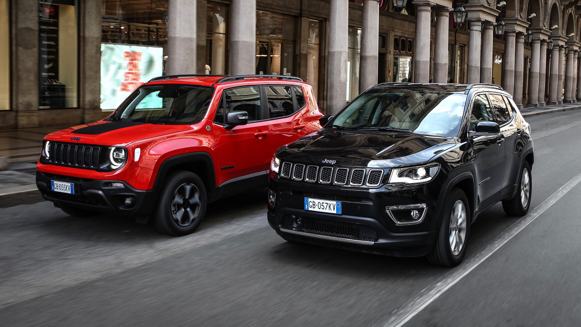 Jeep Renegade 4xe and Compass 4xe plug-in hybrids