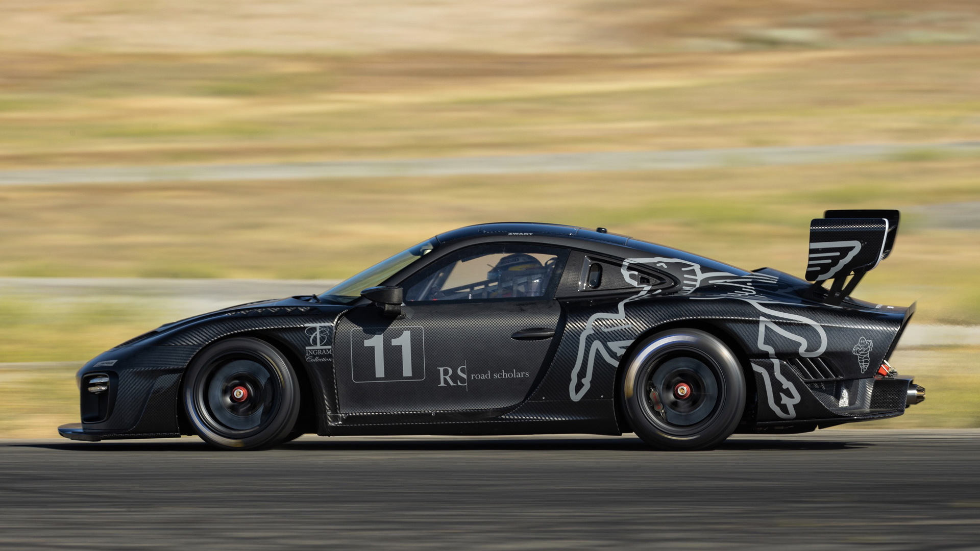 Jeff Zwart will race this Porsche 935 tribute in the 2020 Pikes Peak International Hill Climb