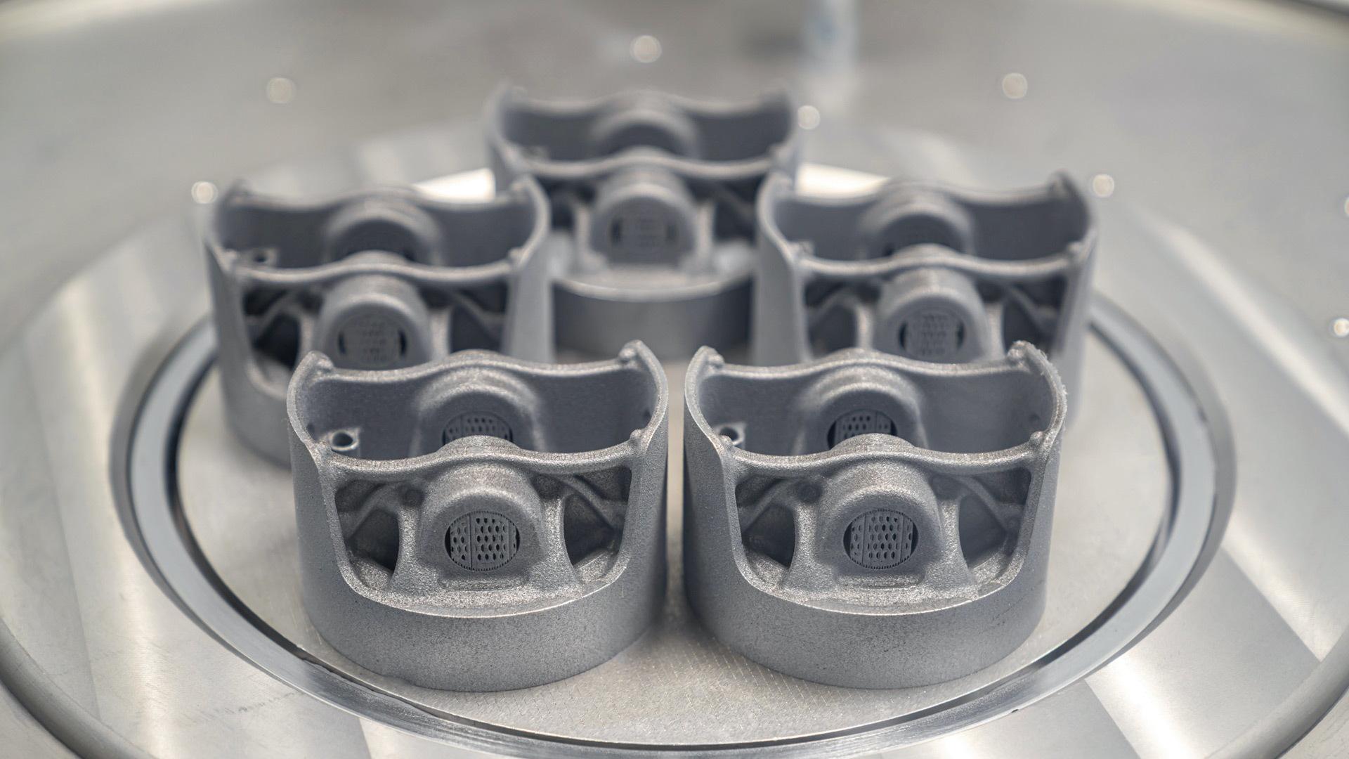 Porsche 3D prints piston for 2018 911 GT2 RS