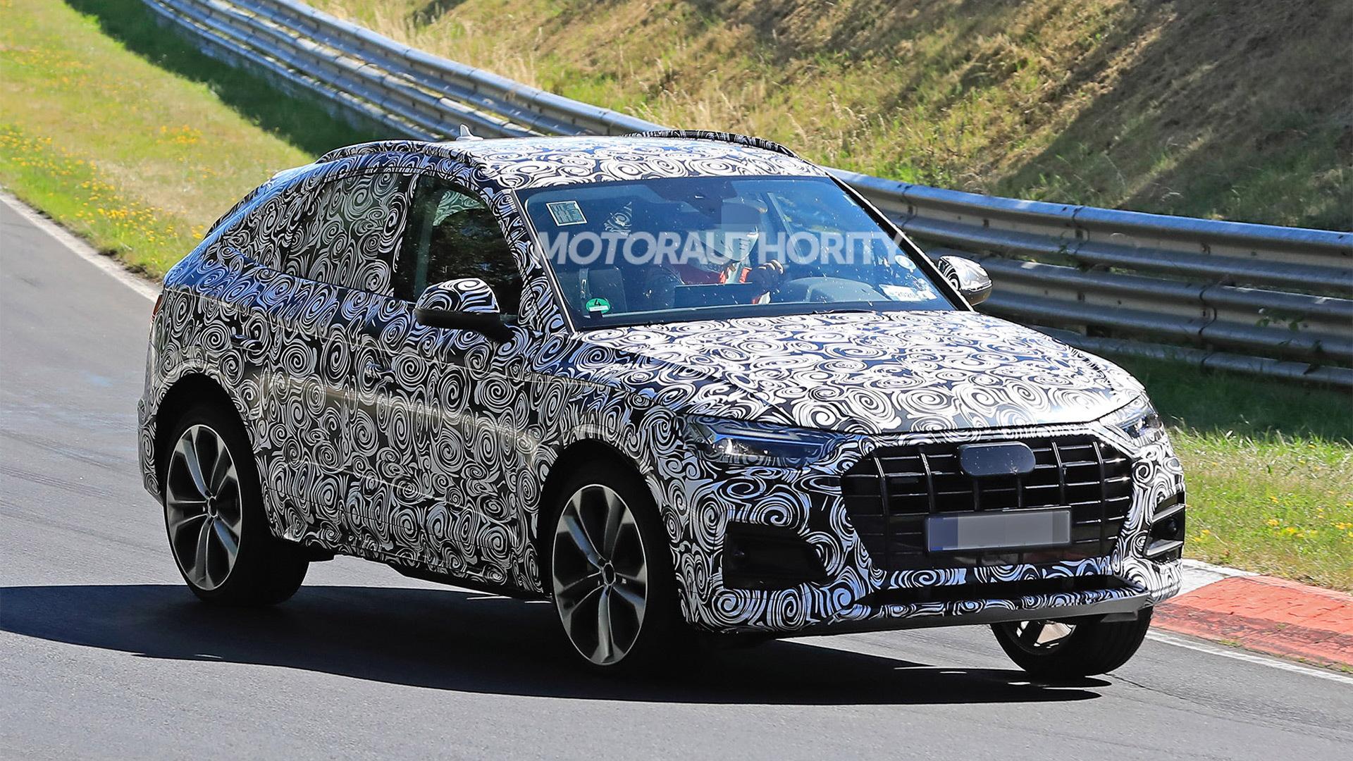 2021 Audi Q5 Sportback spy shots - Picture credit:S. Baldauf/SB-Medien