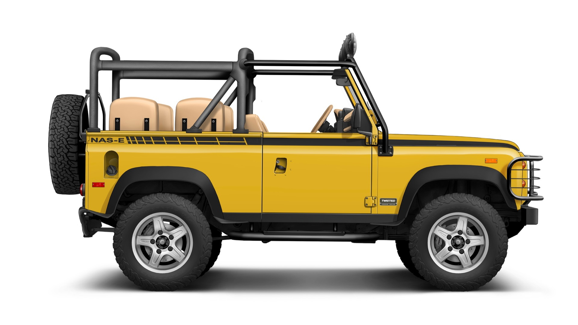 Twisted NAS-E electric Land Rover Defender