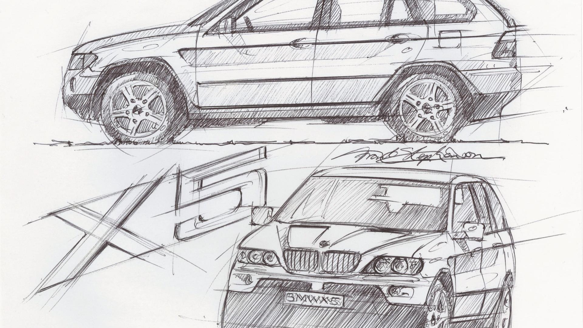 Frank Stephenson BMW X5 sketch