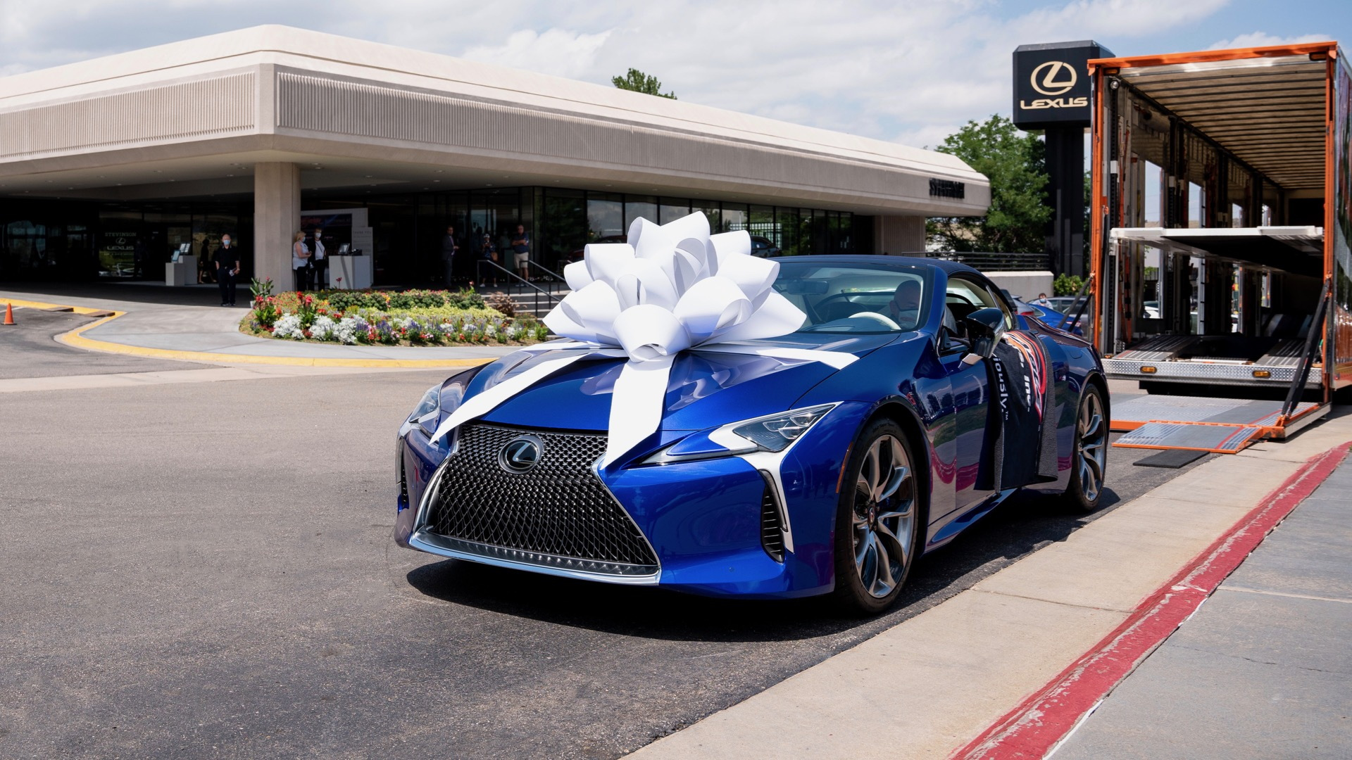 First 2021 Lexus LC 500 convertible delivered to owner Kent Stevinson