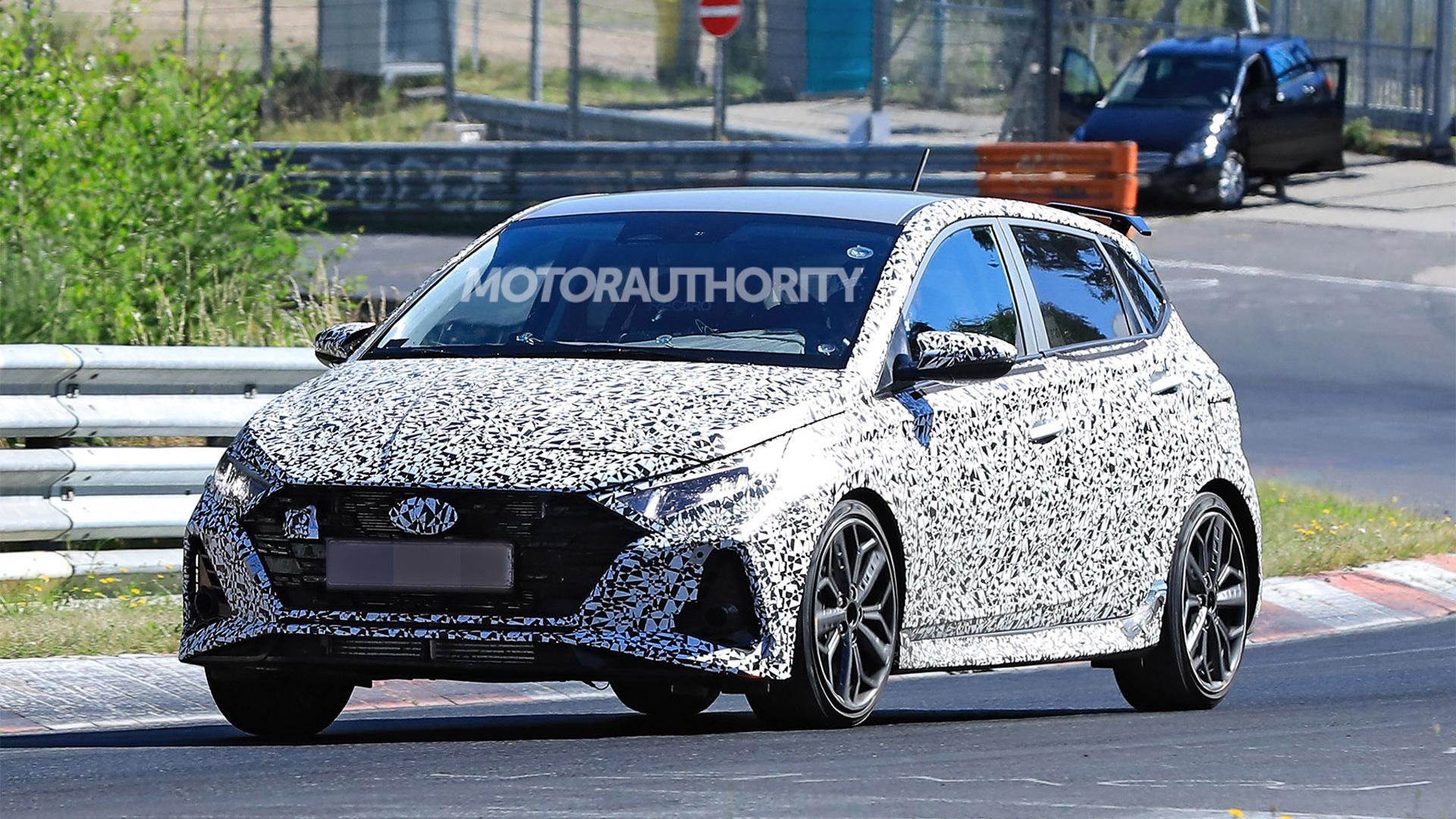 2021 Hyundai i20 N spy shots - Photo credit:S. Baldauf/SB-Medien