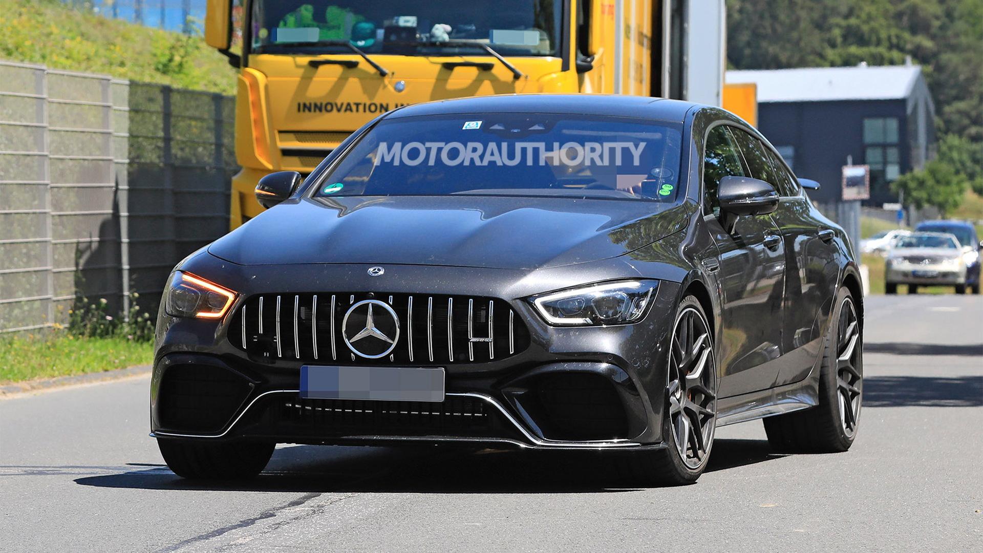 2022 Mercedes-AMG GT 63e 4-Door Coupe spy shots - Photo credit: S. Baldauf/SB-Medien