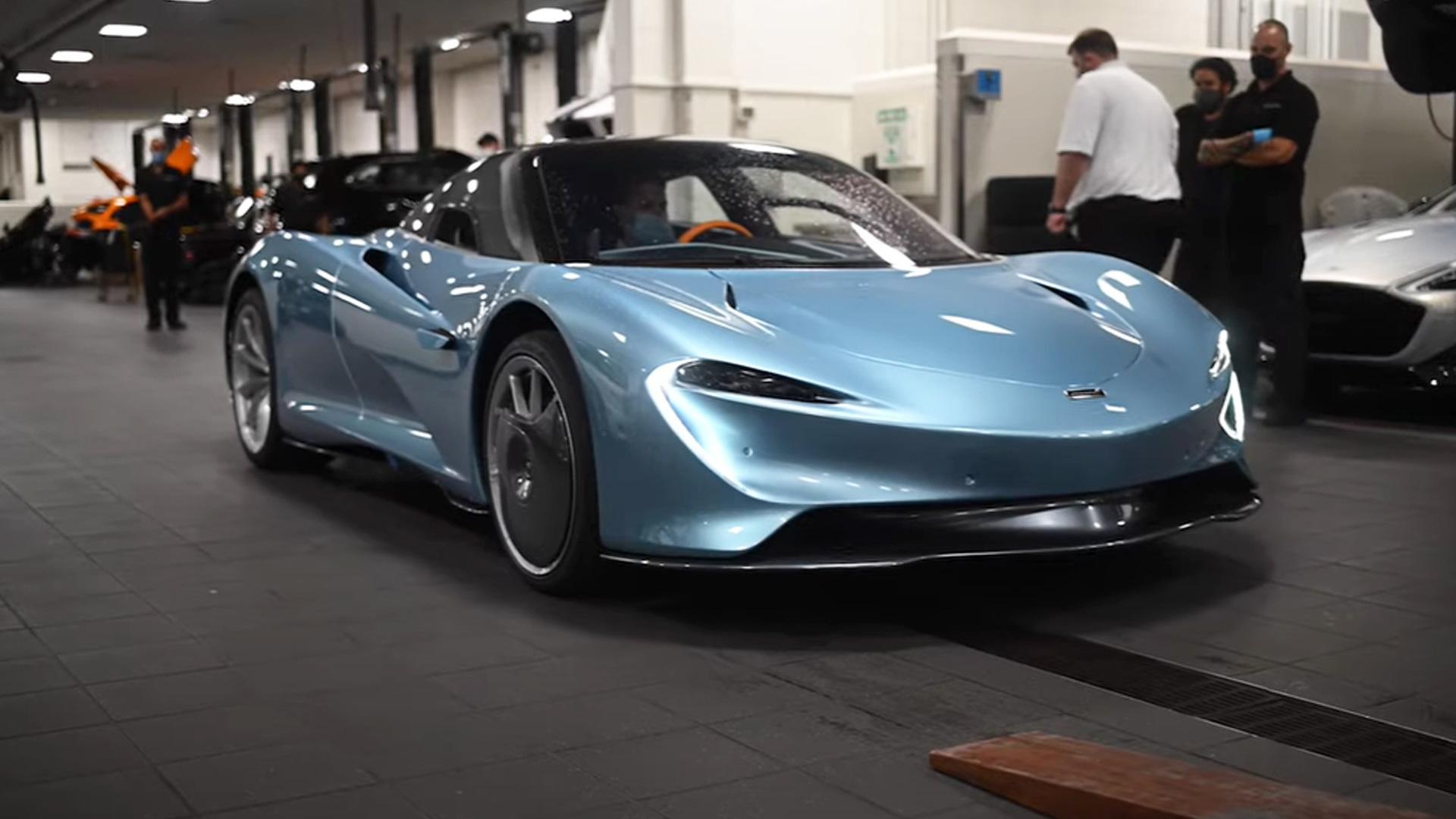 First McLaren Speedtail in United States video