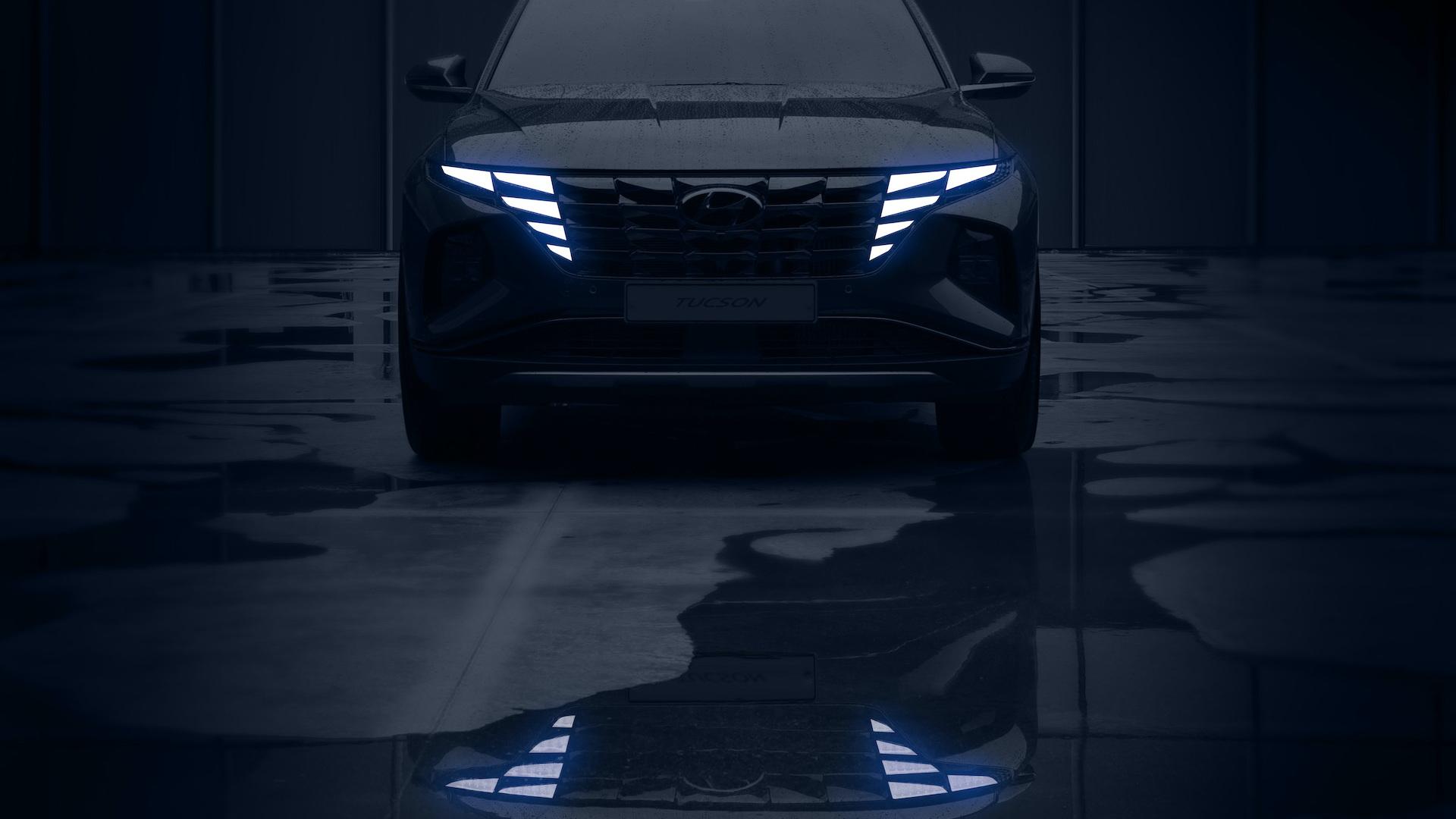 2022 Hyundai Tucson teasers