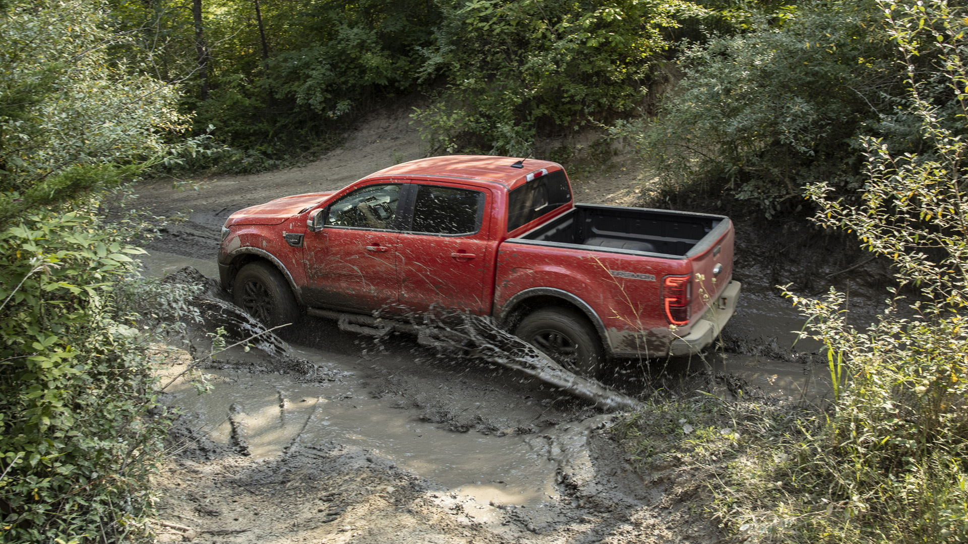 2021 Ford Ranger equipped with Tremor Off-Road Package
