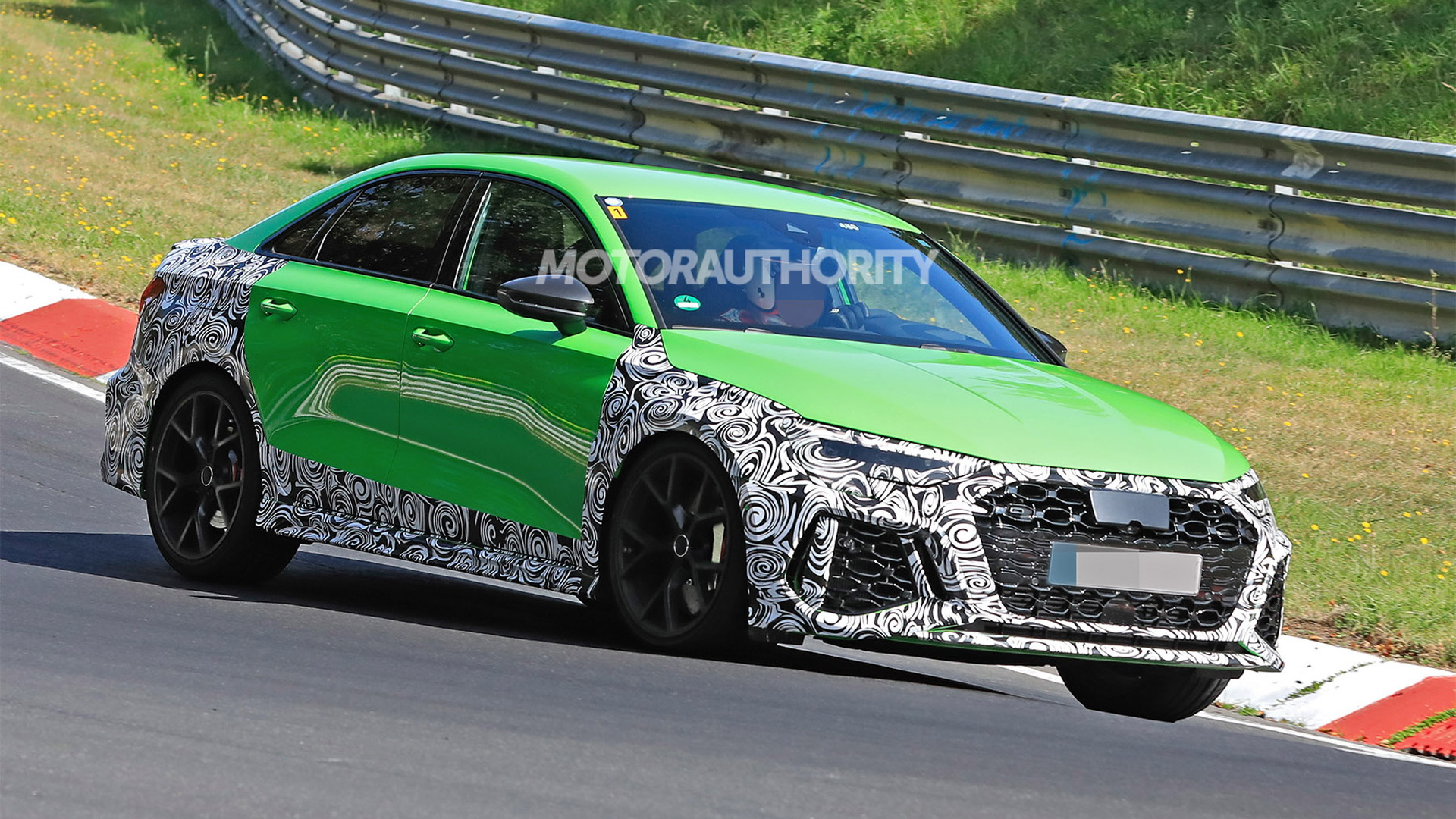 2022 Audi RS 3 Sportback spy shots - Photo credit:S. Baldauf/SB-Medien