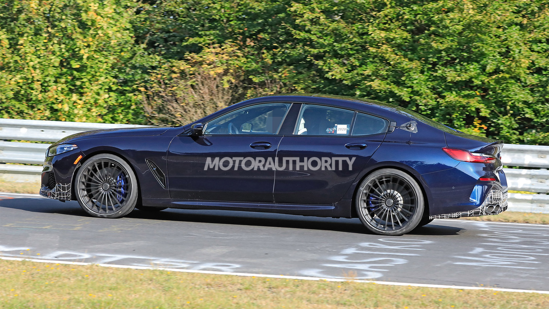 2022 BMW Alpina B8 Gran Coupe spy shots - Photo credit: S. Baldauf/SB-Medien