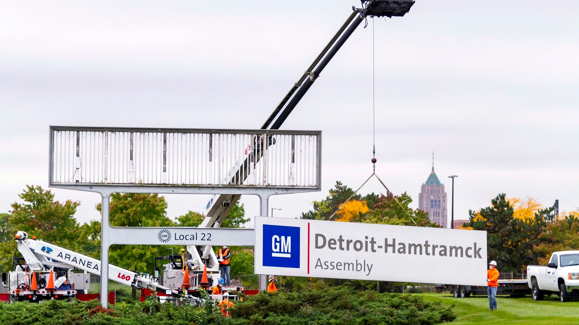Factory Zero - GM reconfigures Hamtramck plant for EVs