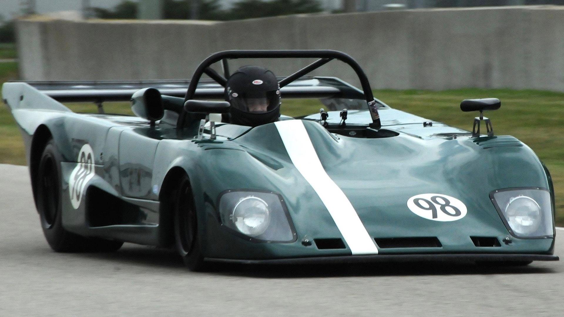 Ford CEO Jim Farley racing his 1978 Lola T298