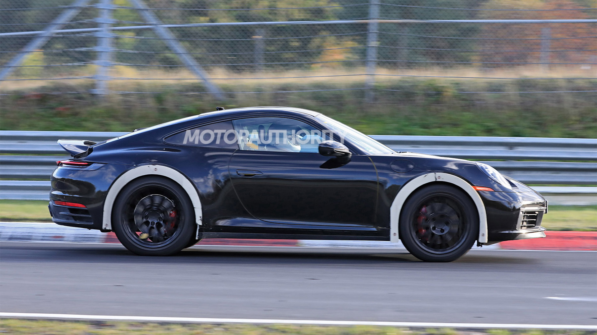 High-riding Porsche 911 prototype spy shots - Photo credit: S. Baldauf/SB-Medien
