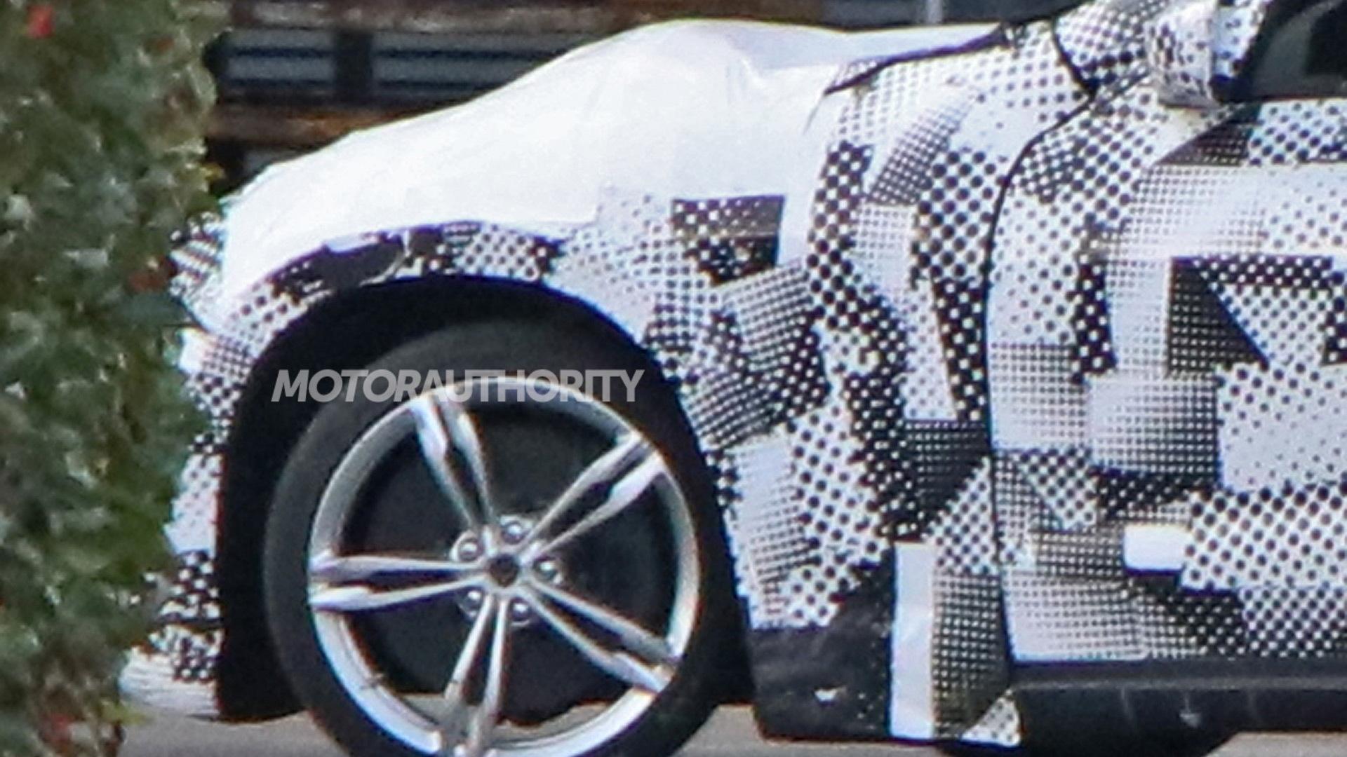 2022 Ferrari Purosangue test mule spy shots - Photo credit:S. Baldauf/SB-Medien
