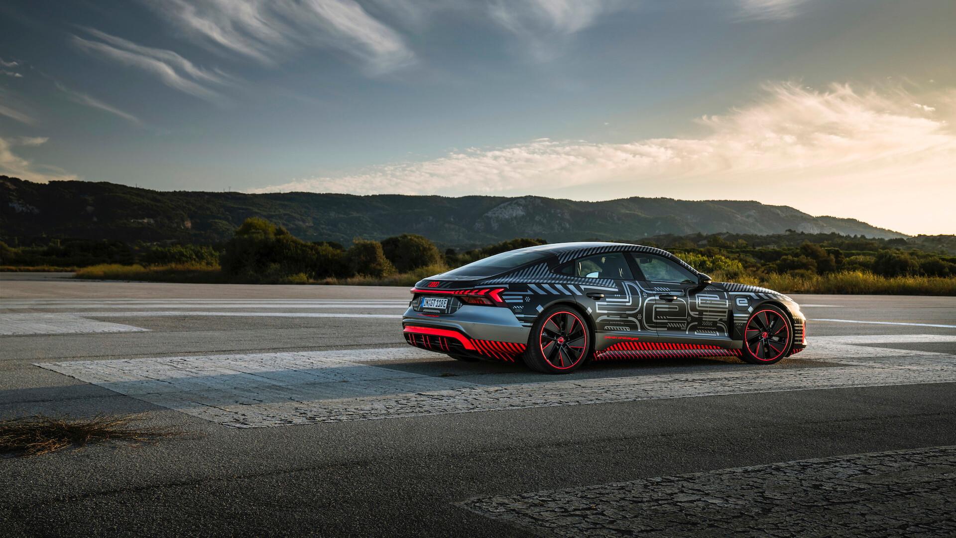 2022 Audi E-Tron GT prototype