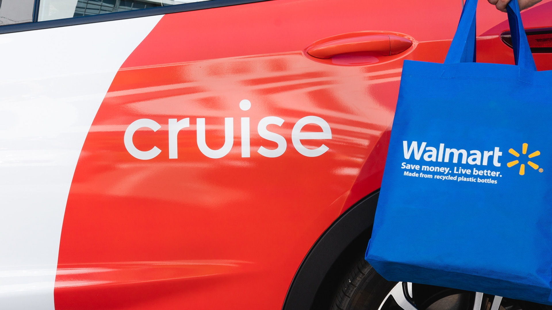 Cruise and Walmart automated delivery service