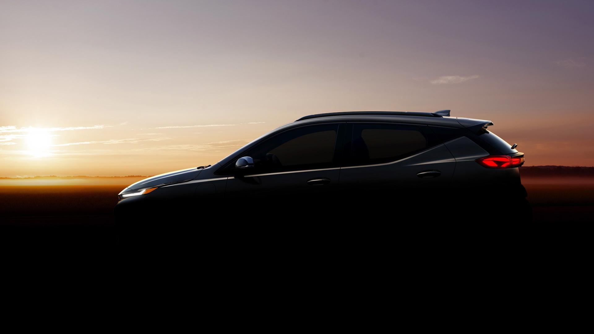 Teaser for 2022 Chevrolet Bolt EUV