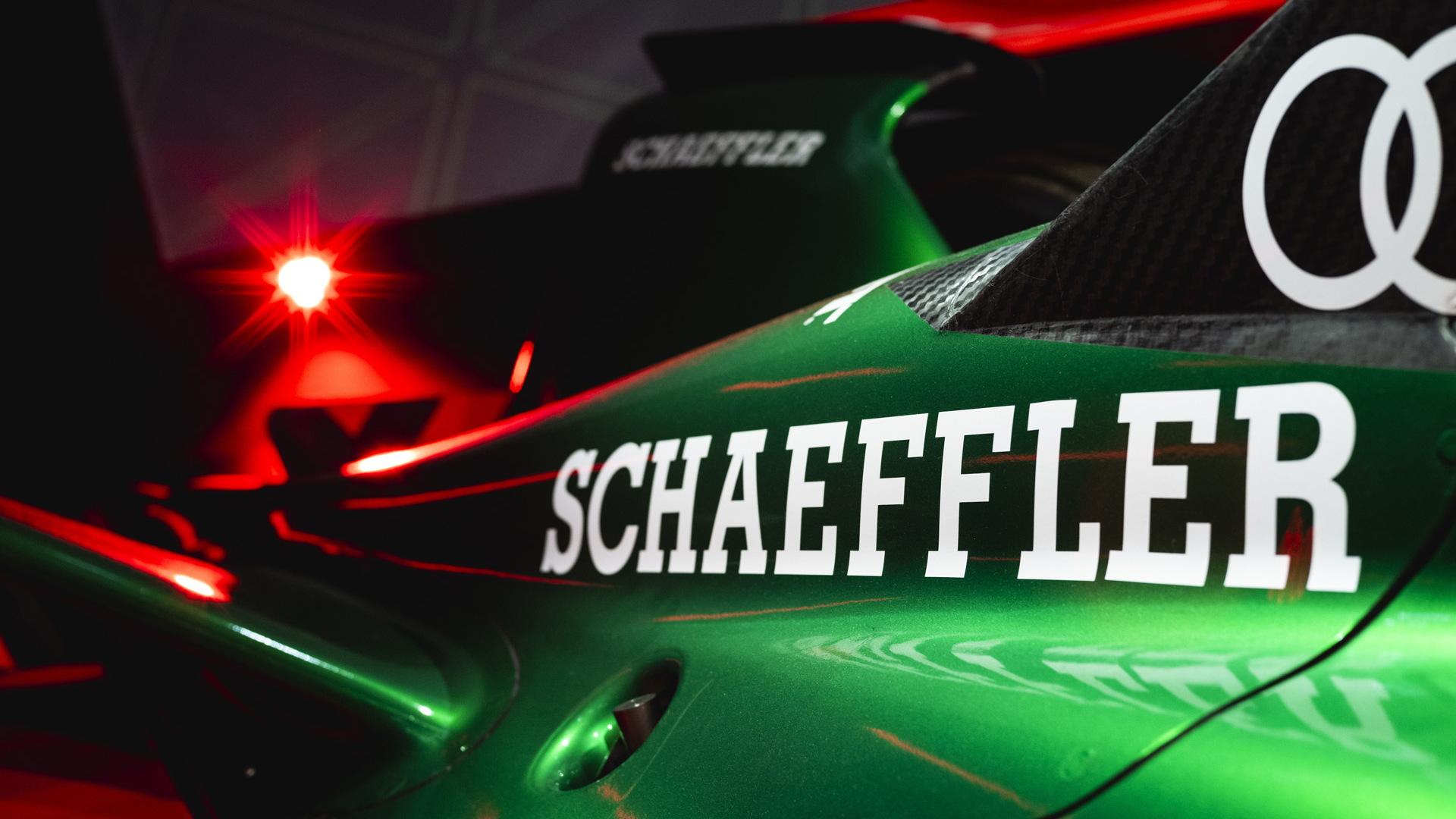 2020/2021 Audi E-Tron FE07 Formula E race car