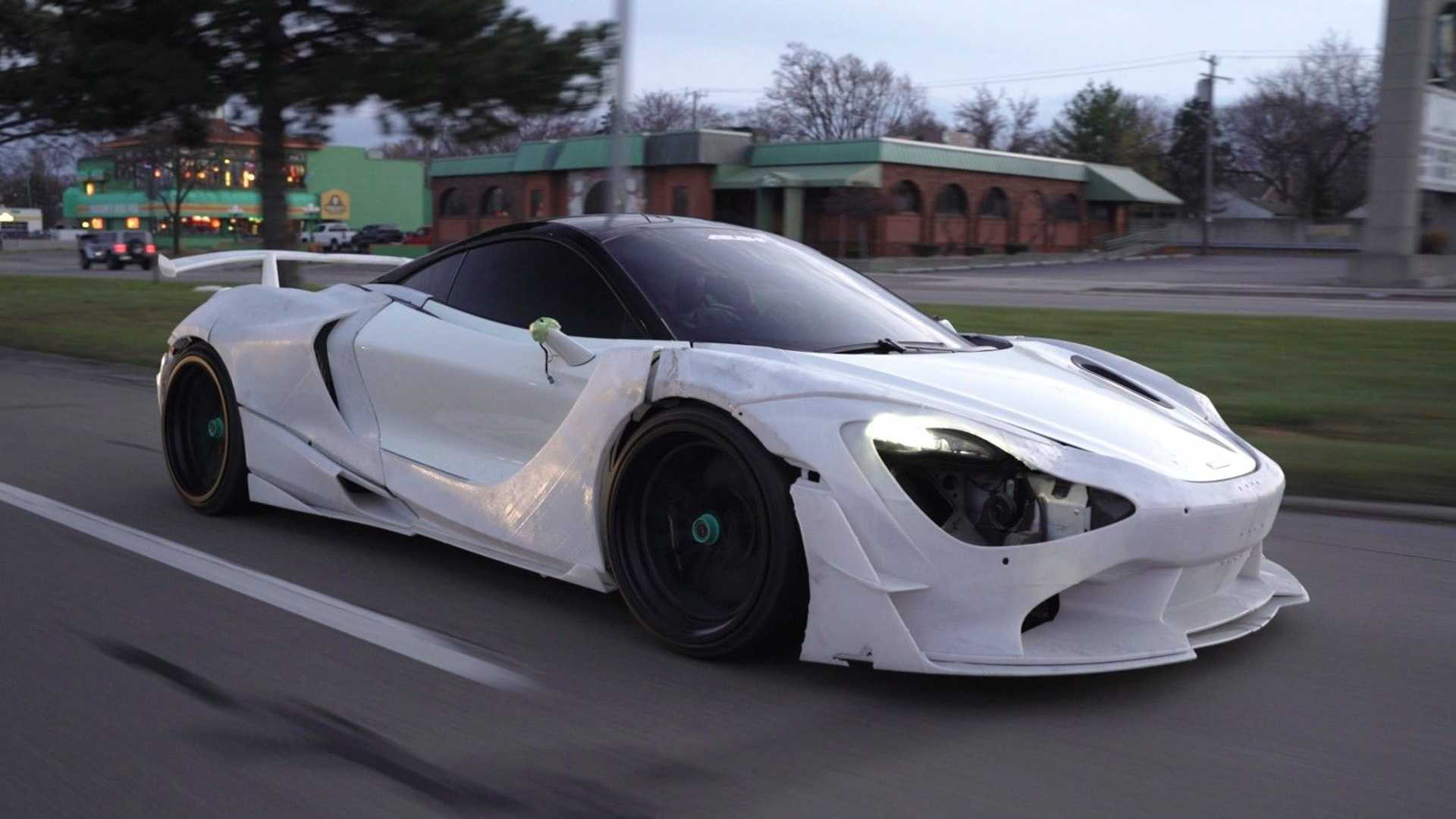 1016 Industries developing 3D-printed body kit for the McLaren 720S