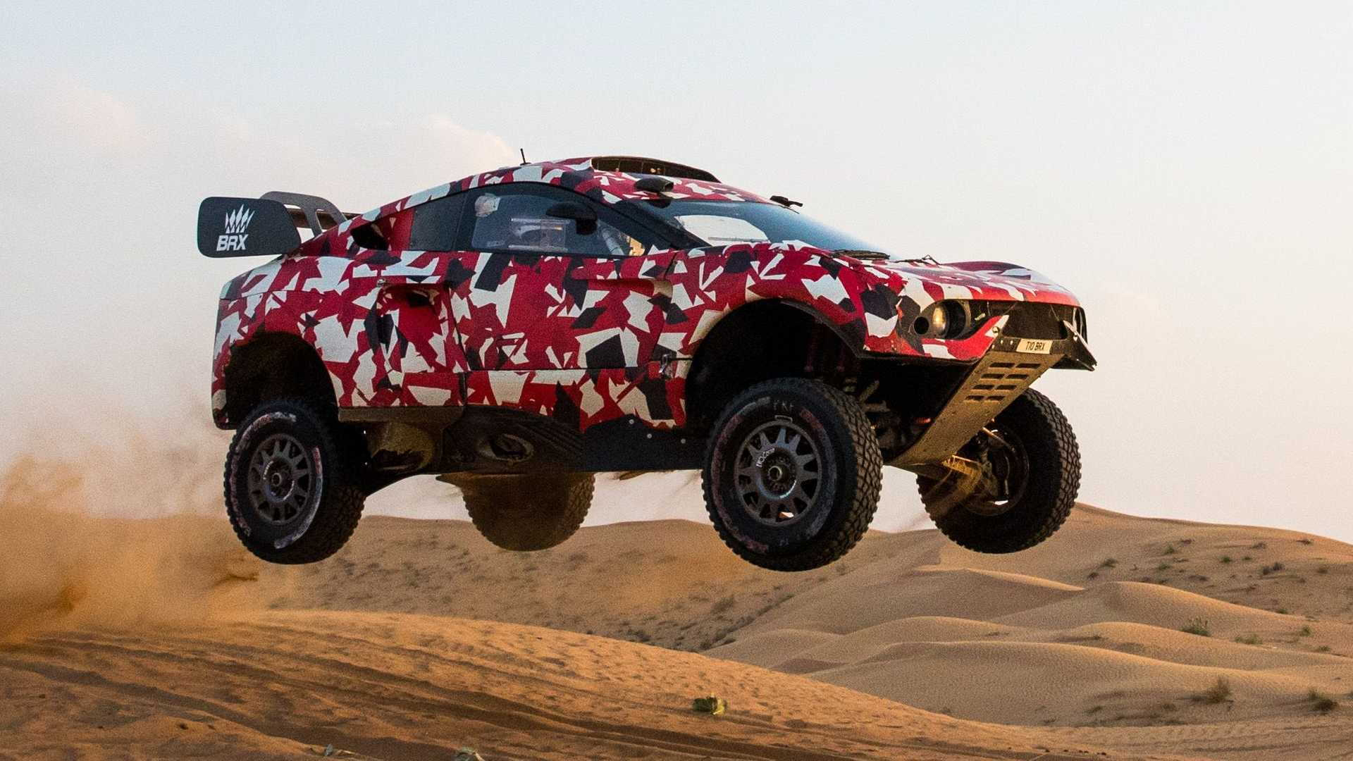 2021 BRX Hunter Dakar Rally T1 race car