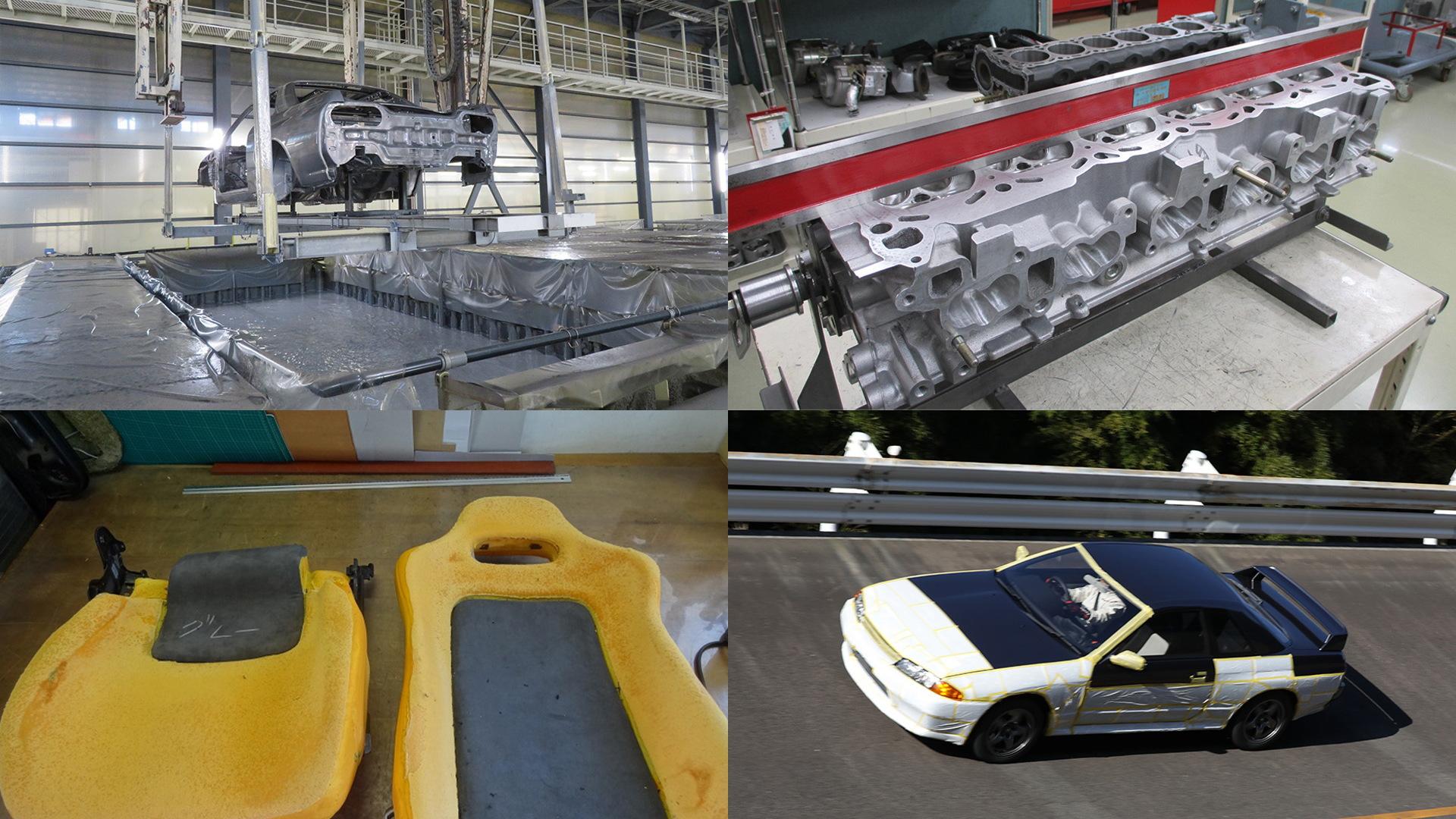 R32 Nissan Skyline GT-R undergoing Nismo restoration