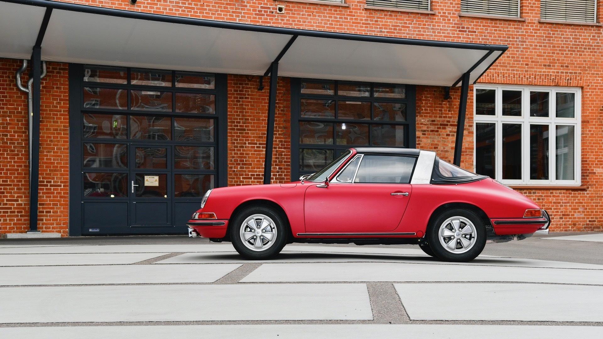 1967 Porsche 911 S Targa restored by Porsche Classic Factory Restoration