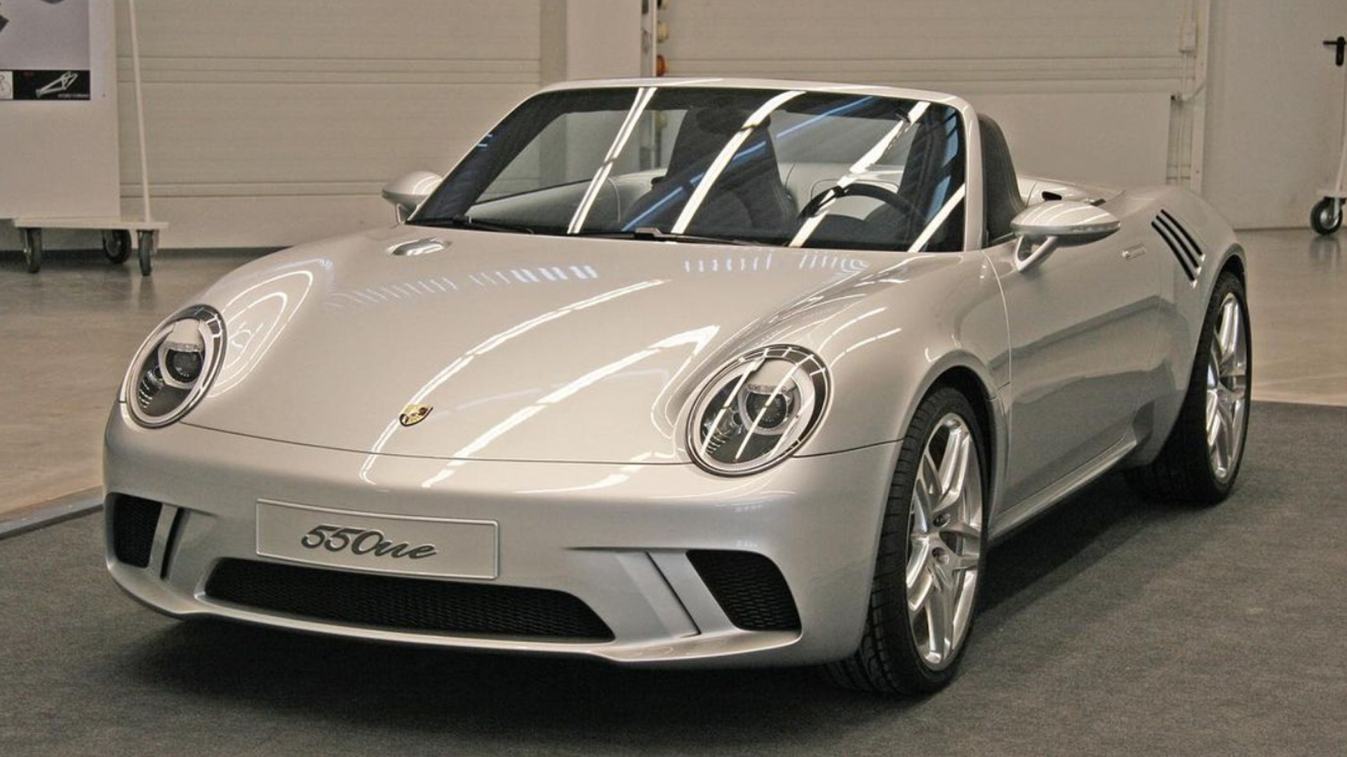 Porsche 550 One concept - Photo credit: Walter de Silva/Instagram