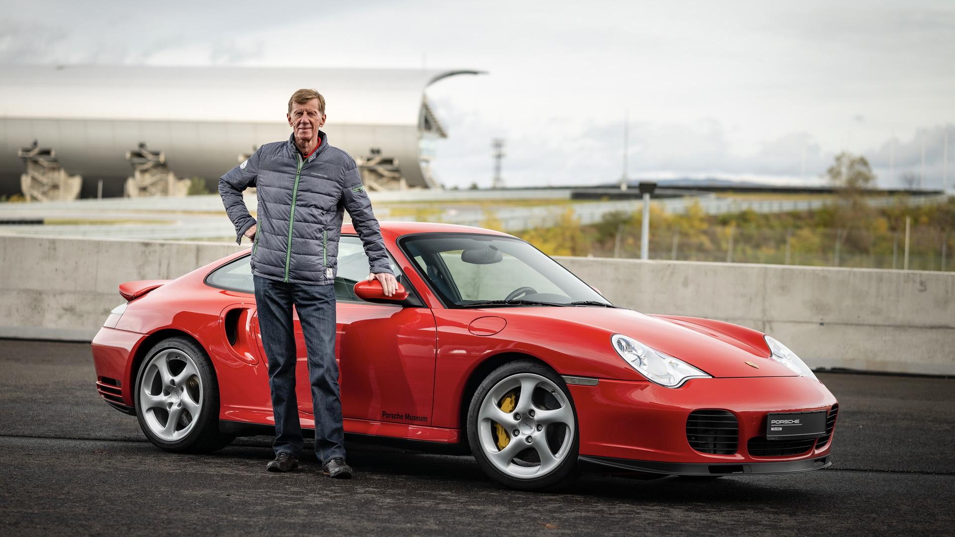 Walter Röhrl and the 996-generation Porsche 911 Turbo