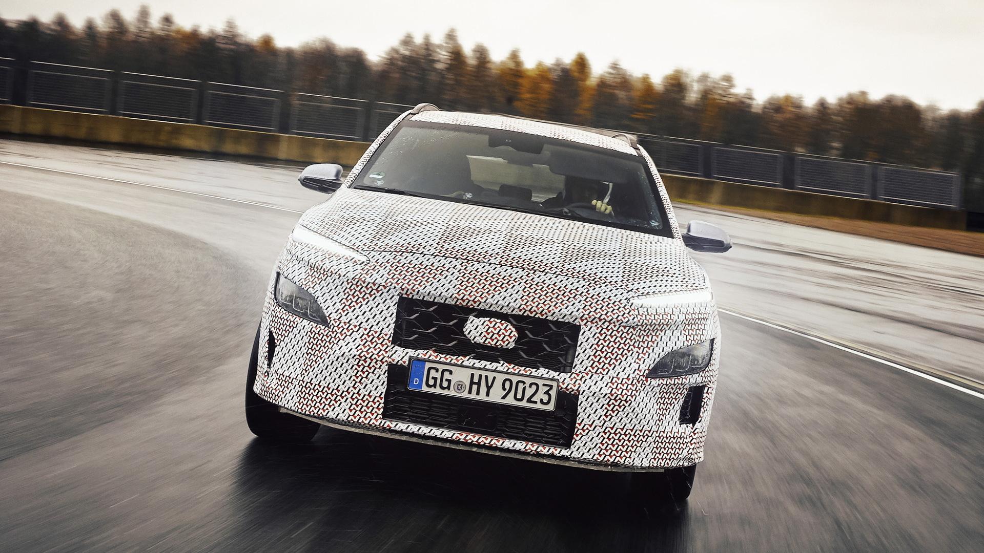 2022 Hyundai Kona N prototype