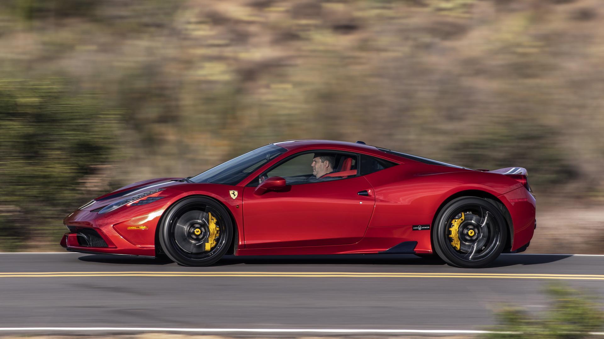 Armored Ferrari 458 Speciale by AddArmor