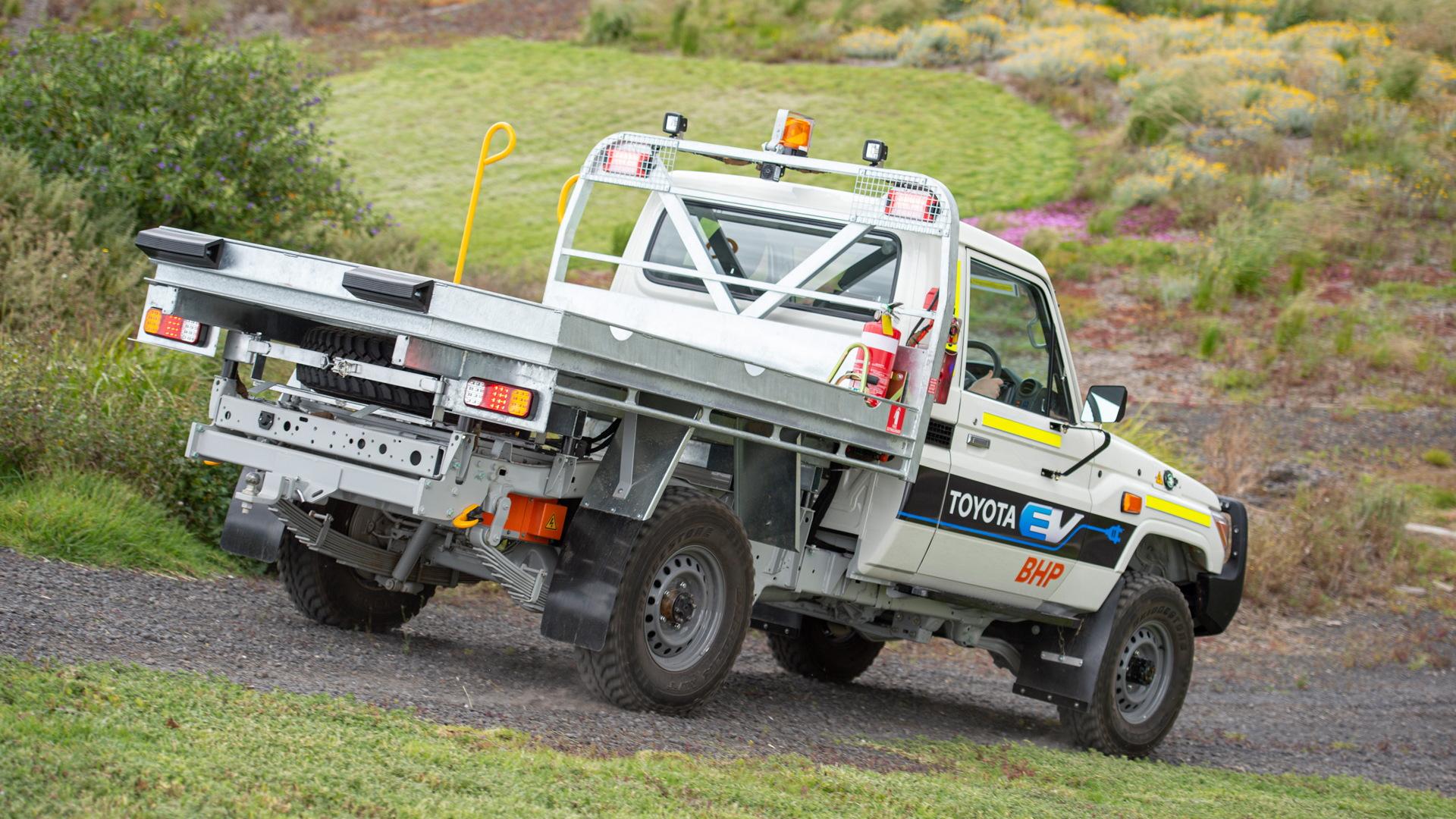 Toyota Land Cruiser 70 battery-electric prototype