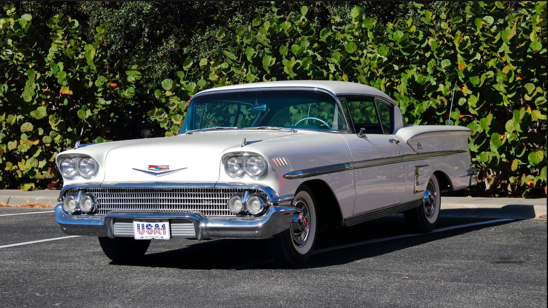 1958 Chevrolet Impala from Rick Treworgy collection (Photo by Mecum Auctions)