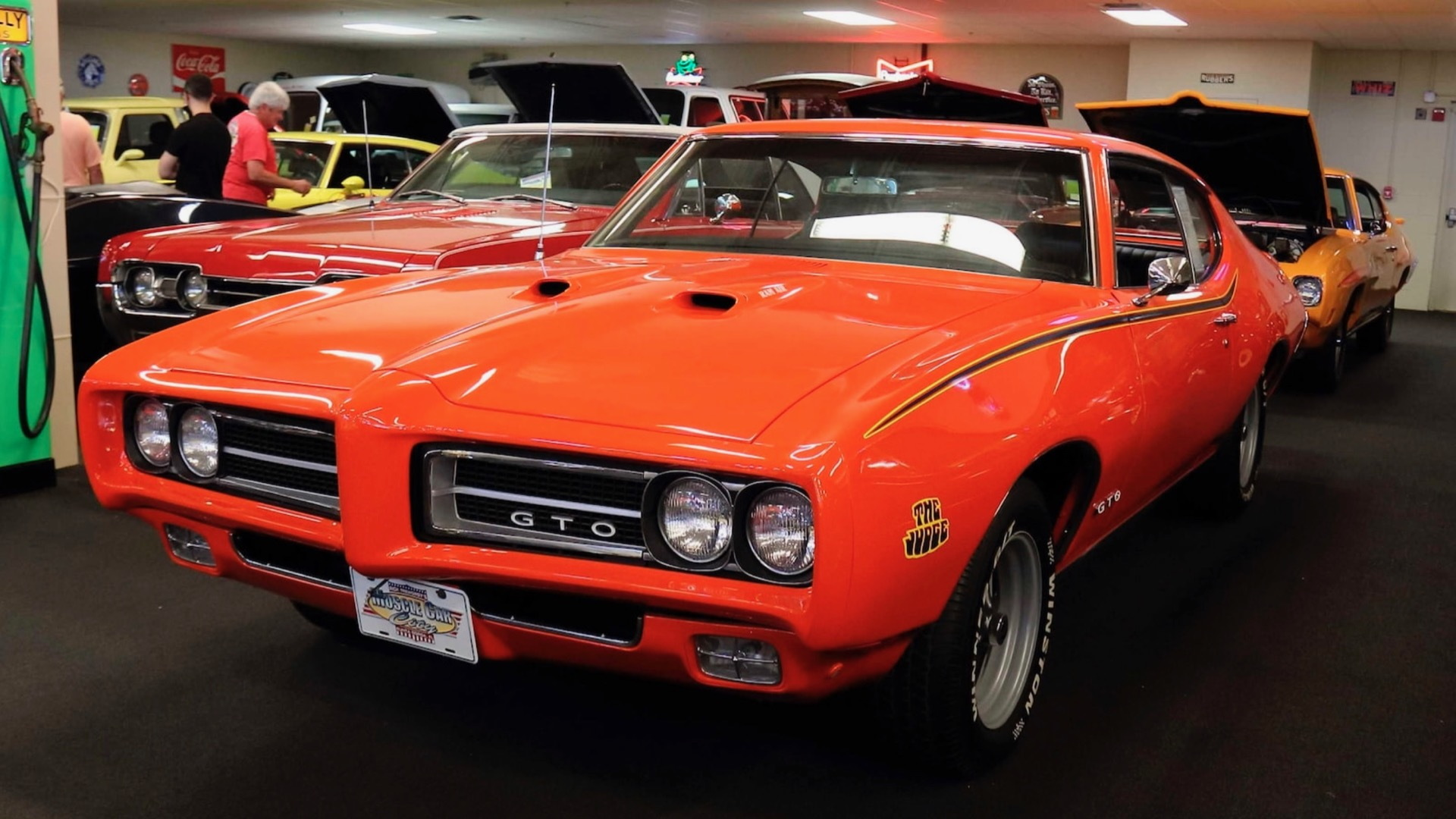 1969 Pontiac GTO Judge from Rick Treworgy collection (Photo by Mecum Auctions)
