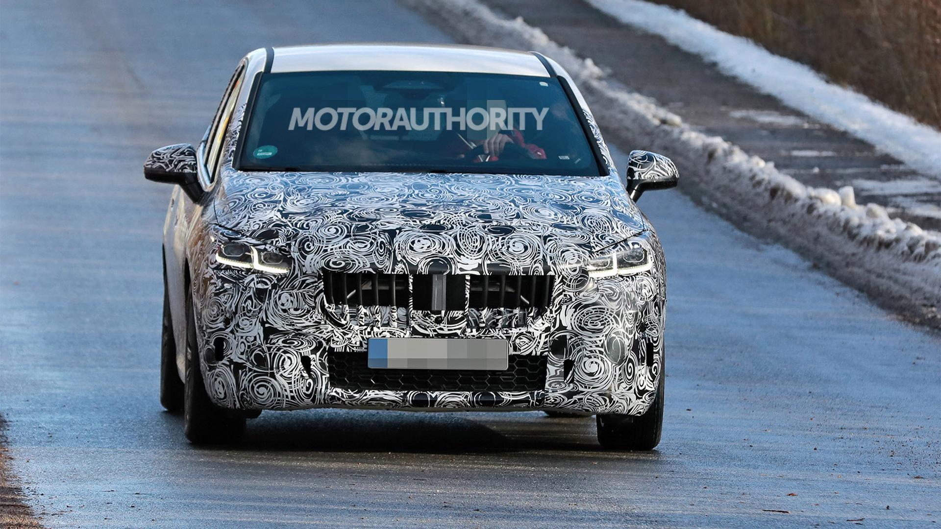 2021 BMW 2-Series Active Tourer spy shots - Photo credit:S. Baldauf/SB-Medien