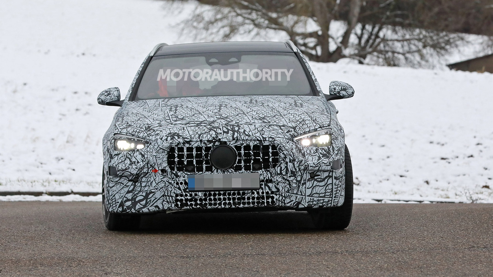 2022 Mercedes-Benz AMG C53 Wagon spy shots - Photo credit:S. Baldauf/SB-Medien