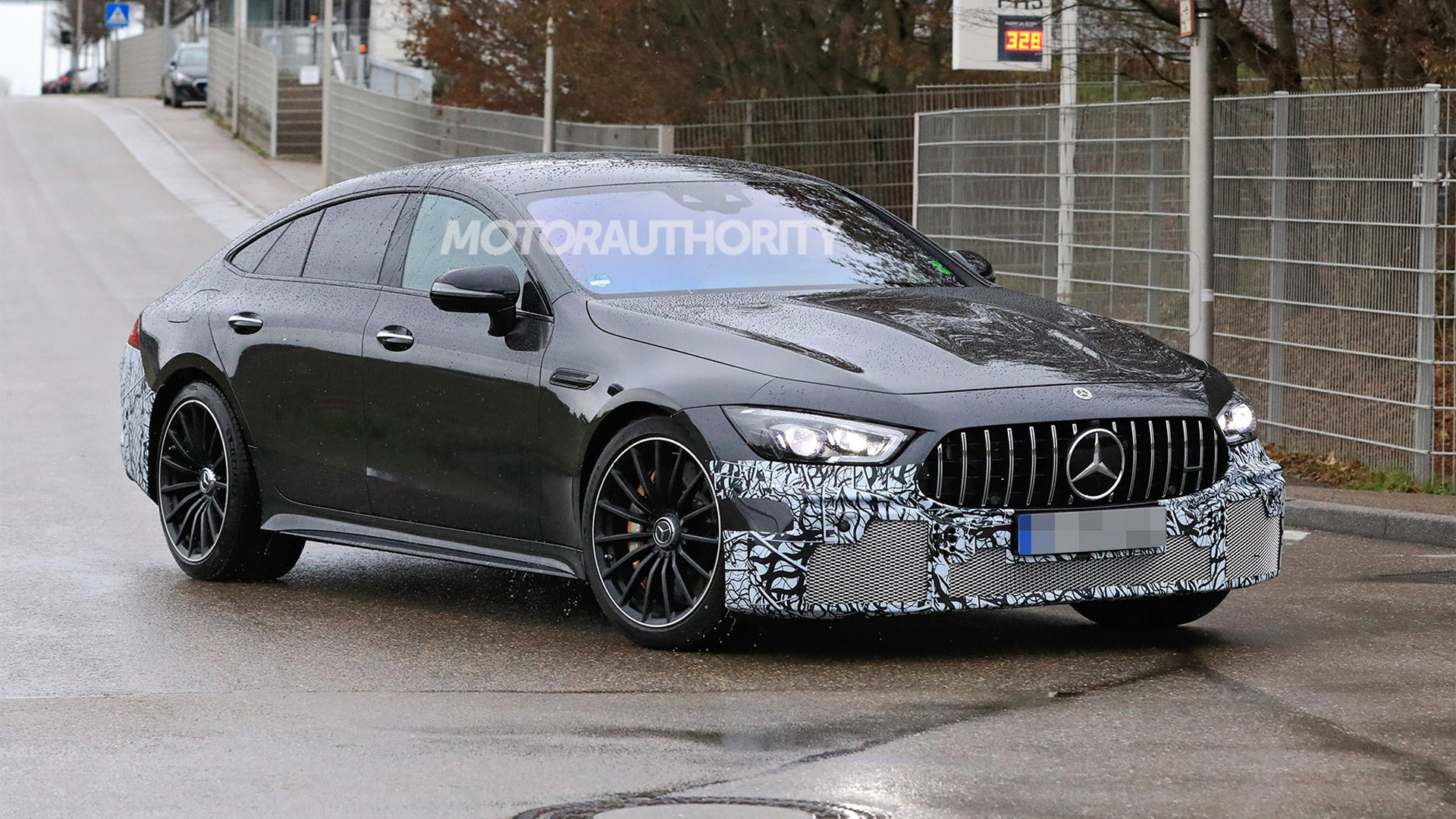 2022 Mercedes-Benz AMG GT 73e 4-Door Coupe spy shots - Photo credit: S. Baldauf/SB-Medien
