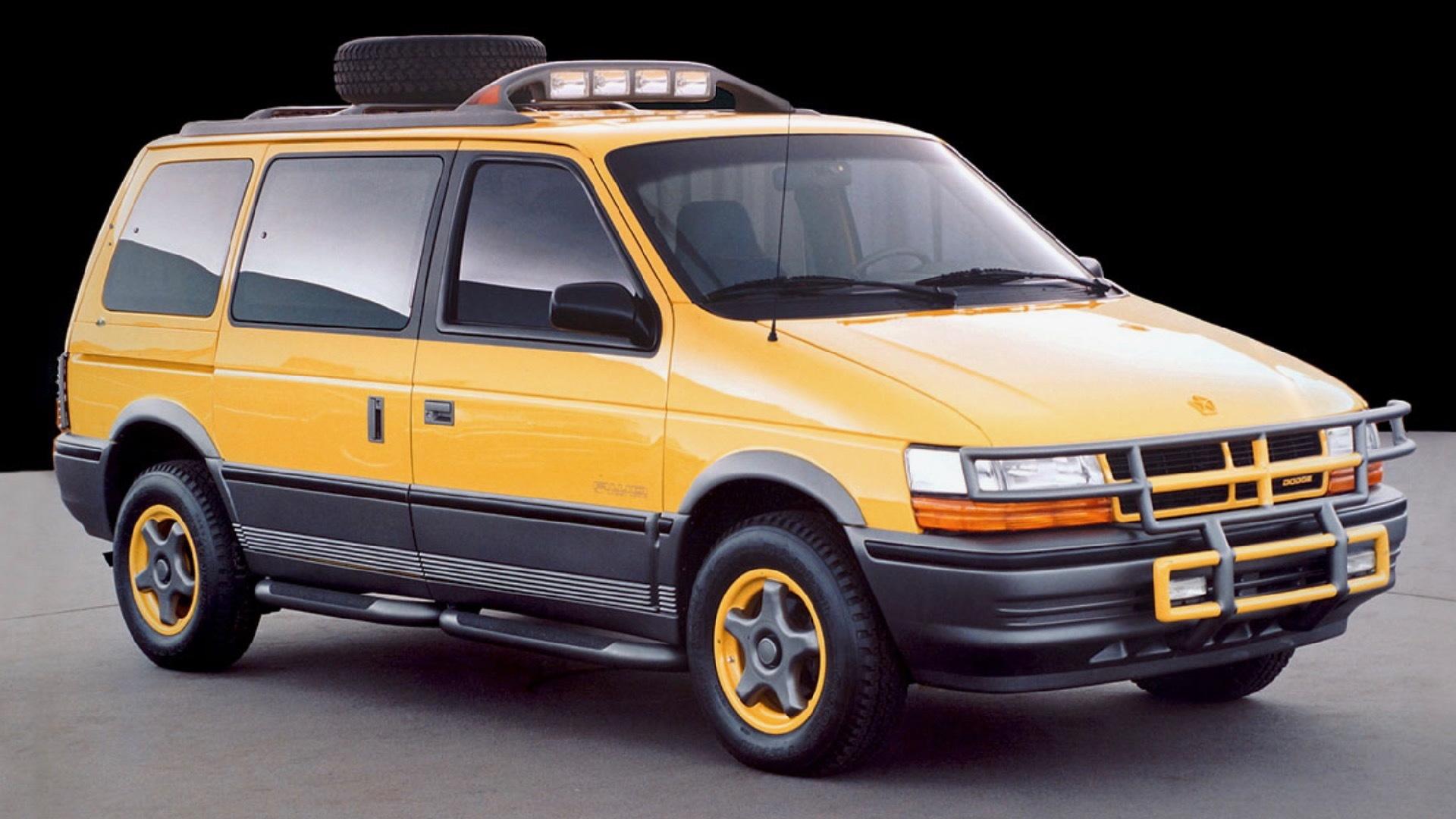 Dodge Caravan off-road concept (via Michael Santoro)