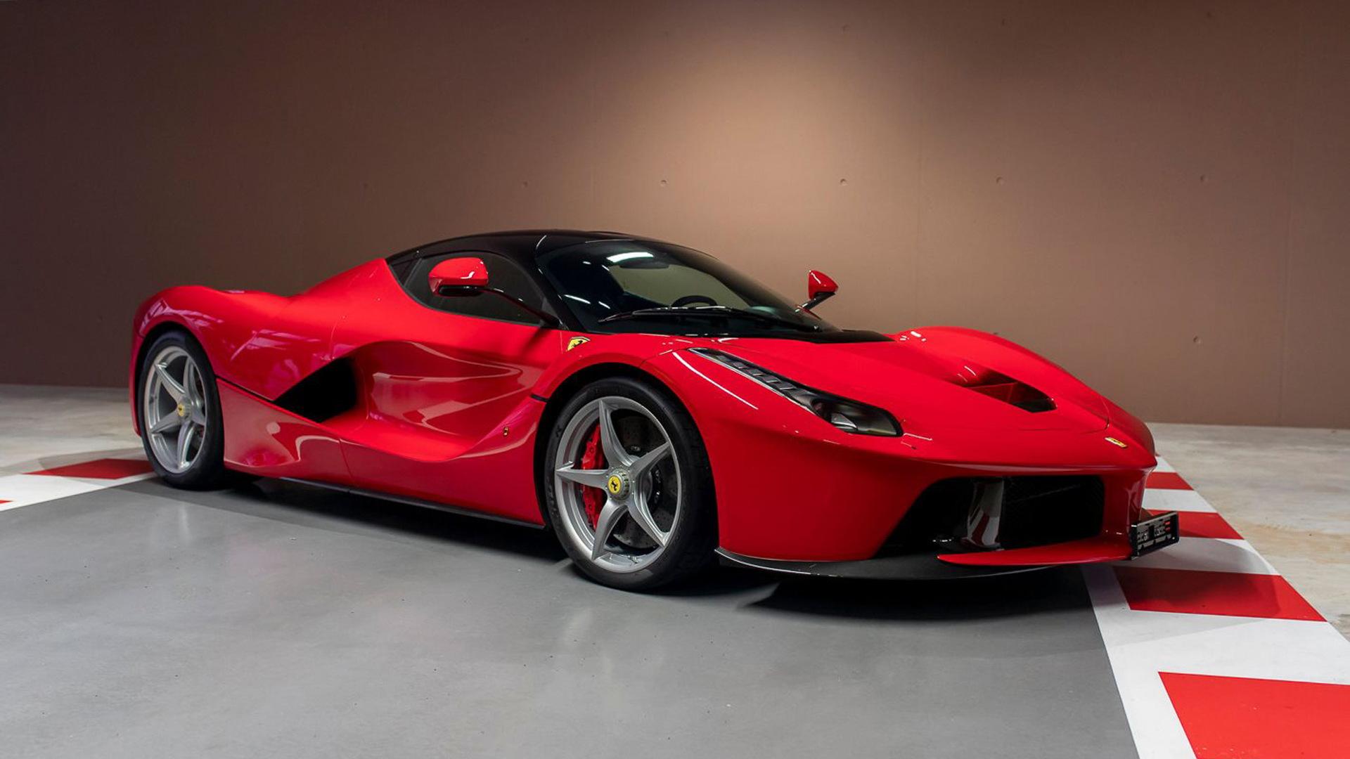 Ferrari LaFerrari once owned by Sebastian Vettel - Photo credit: Which Car/Tom Hartley Jnr
