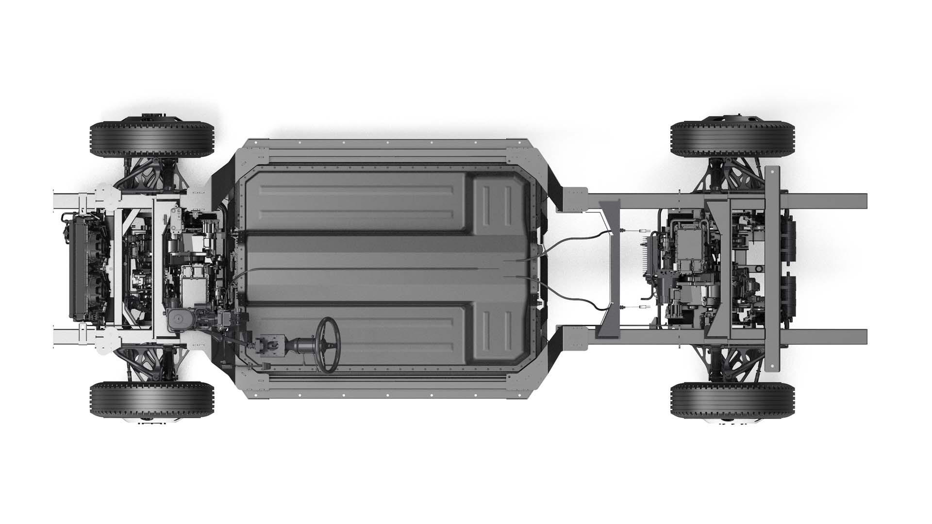 Bollinger Chass-E all-wheel drive