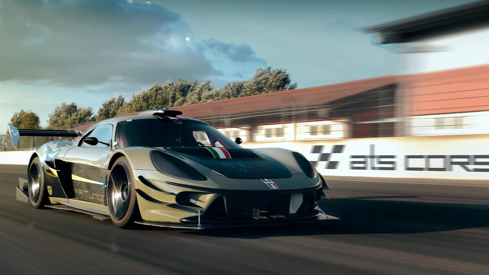 ATS RR Turbo race car