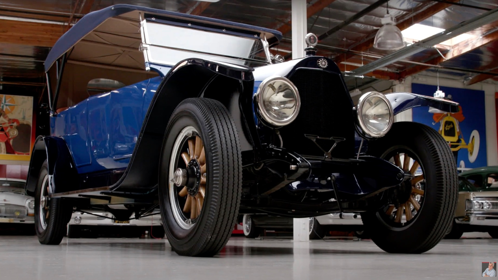 1916 Owen Magnetic on Jay Leno's Garage