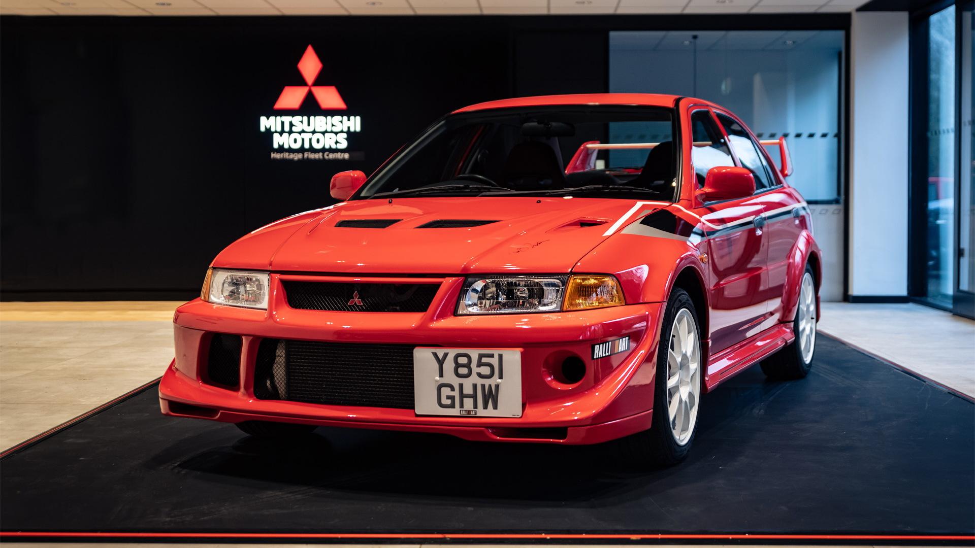 2001 Mitsubishi Lancer Evolution VI Tommi Makinen