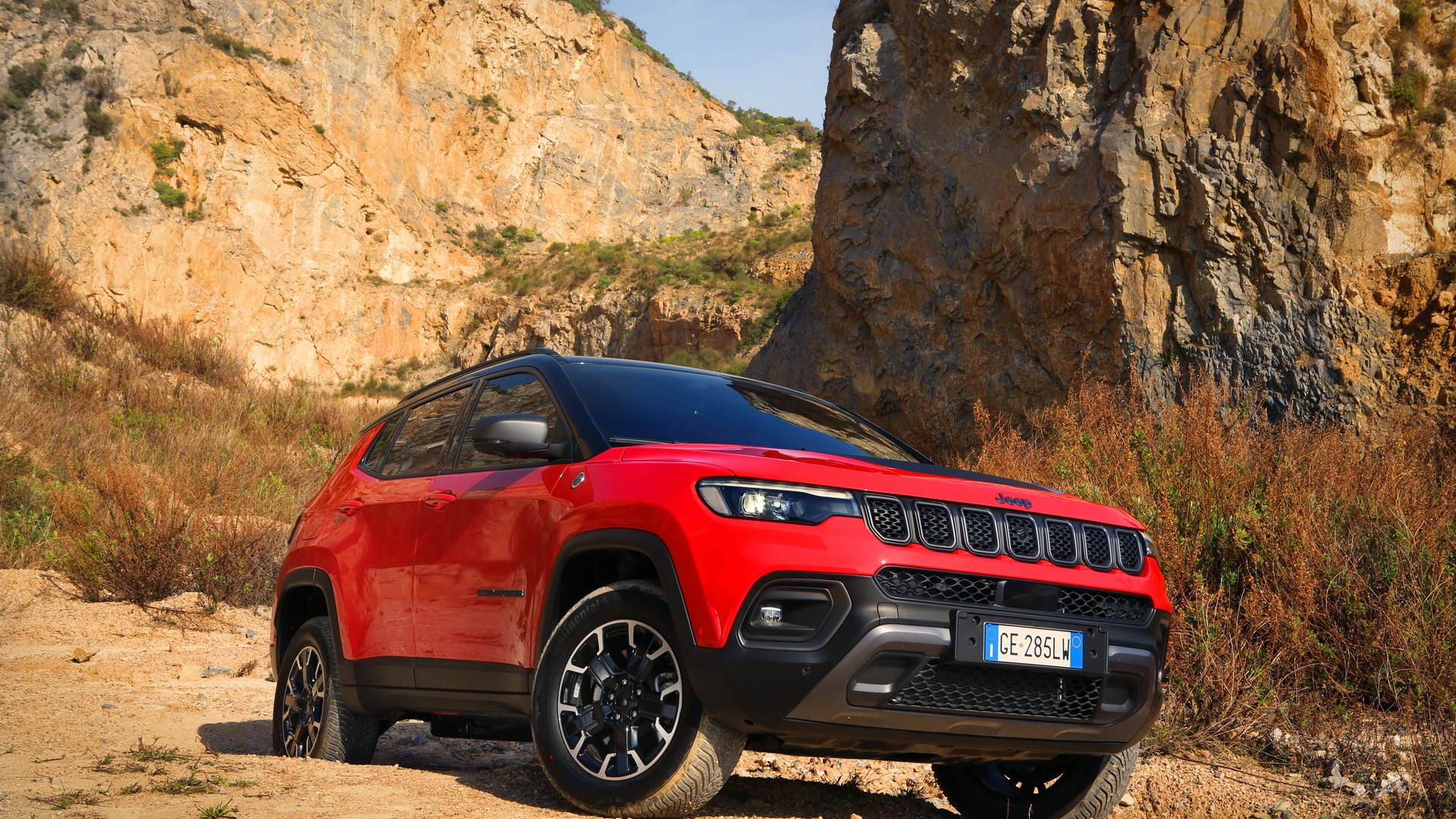 2022 Jeep Compass Trailhawk (European spec)
