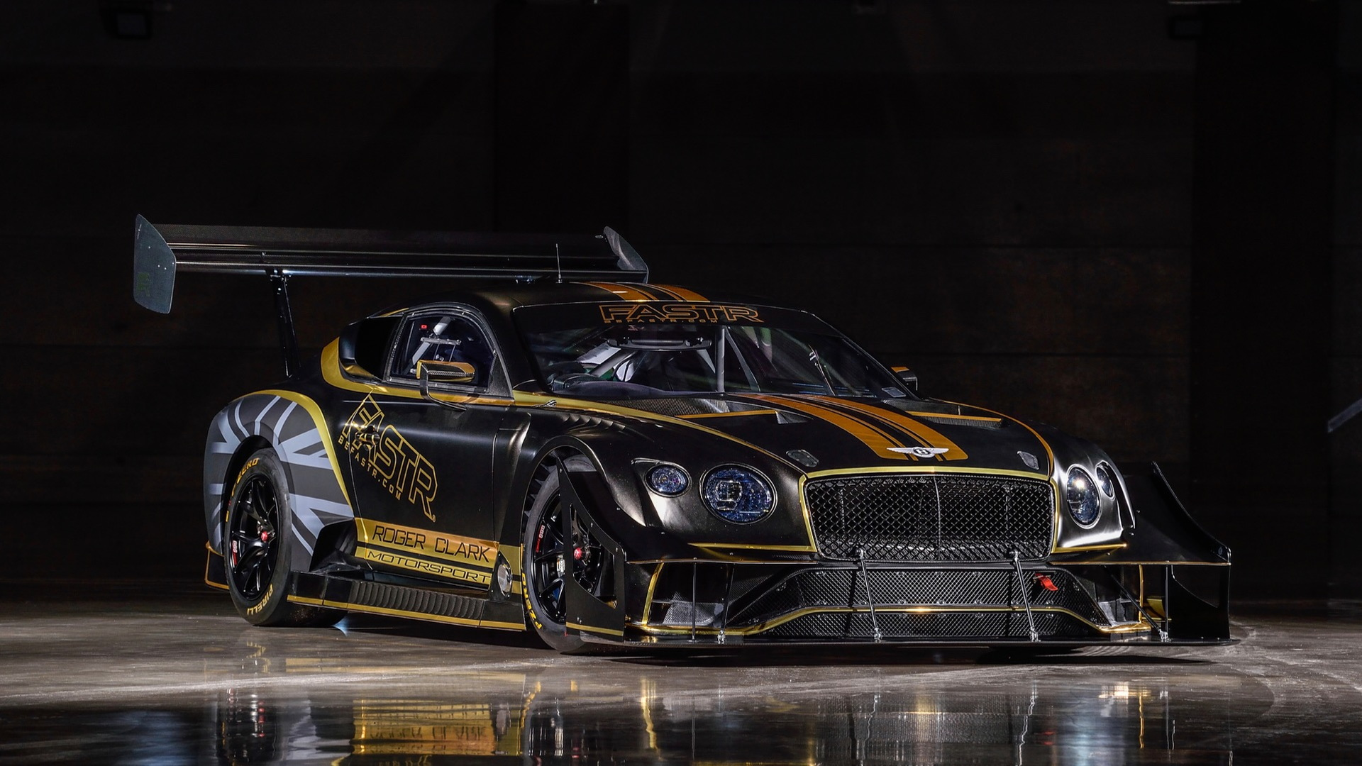 Bentley Continental GT3 Pikes Peak