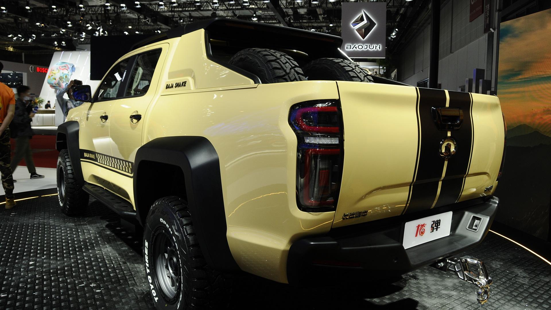 2021 GWM Cannon Baja Snake – 2021 Shanghai auto show
