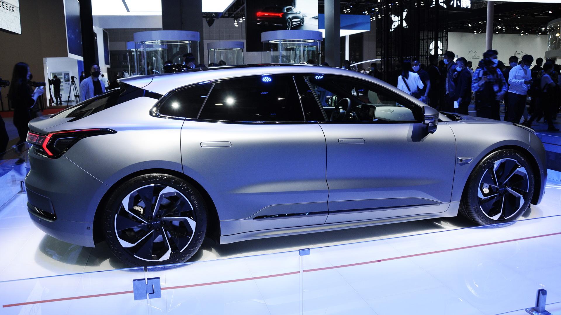 2021 Zeekr 001 - 2021 Shanghai auto show